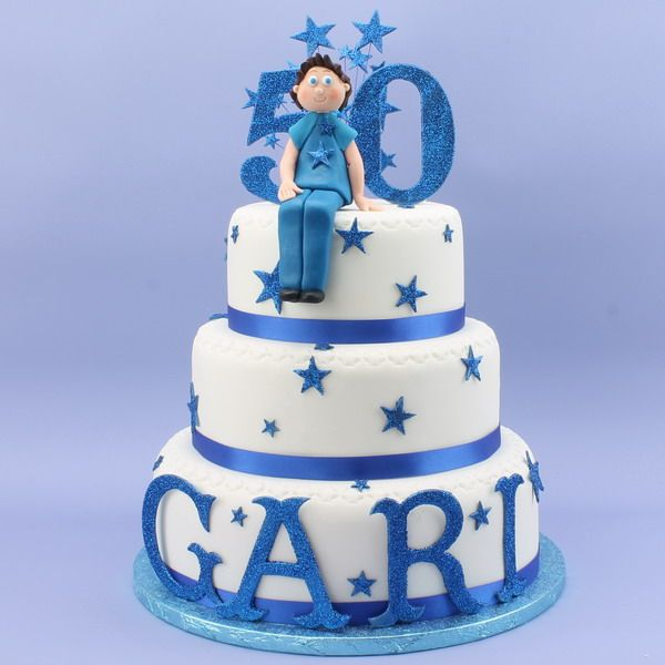 50th Birthday Cake Men s cakes Pinterest 50 birthday ...