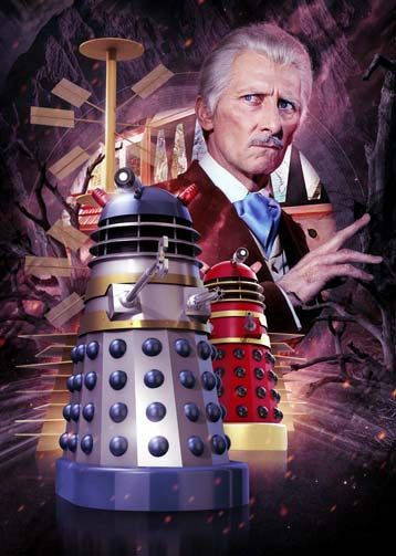 Peter Cushing Dr Who And The Daleks by TheZeroRoom on Etsy