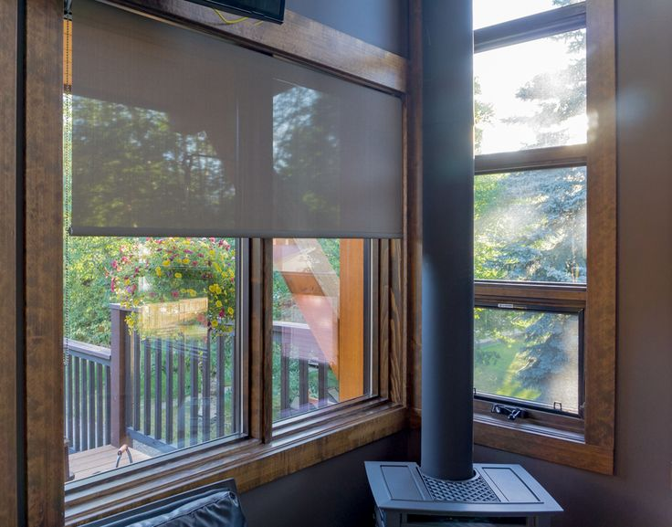 Roller Shades I A touch of privacy combined with natural light. Contact us to set up your consultation.