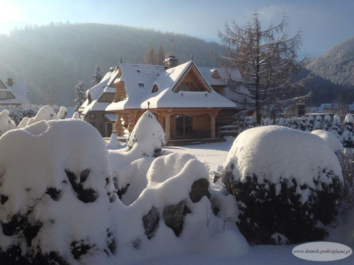 Tatry zima - 29 listopad 2013 roku domek góralski