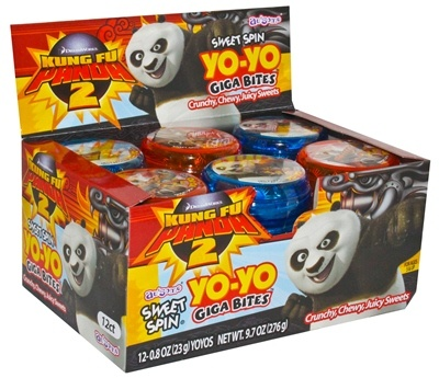 Kung Fu Panda Sweet Spin Yo-Yo (Display)
