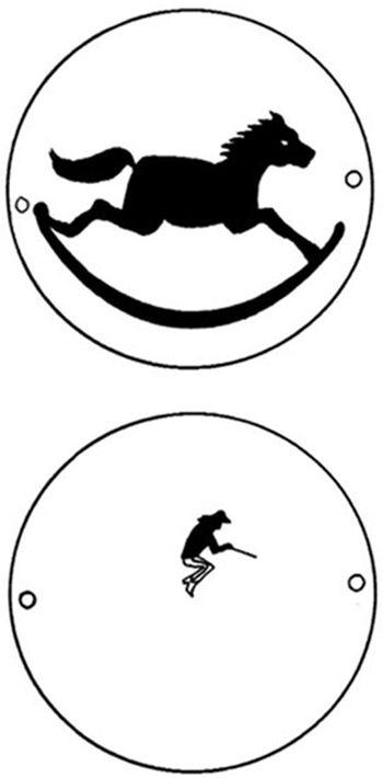 thaumatrope El taumatropo es un juguete óptico inventado en 1824 por John Ayrton Paris en Inglaterra, para demostrar la persistencia de la retina.