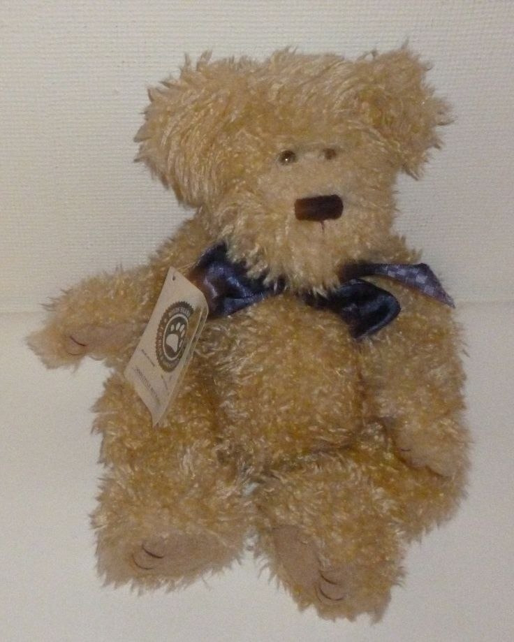 """Here we have a Boyd's Bear Doolittle Buckshot Teddy Bear Plush Animal. He was made by Boyd's Bears. He is approx 13"""" tall. He is in good condition. He does have some imperfections and wear. His tag is"""