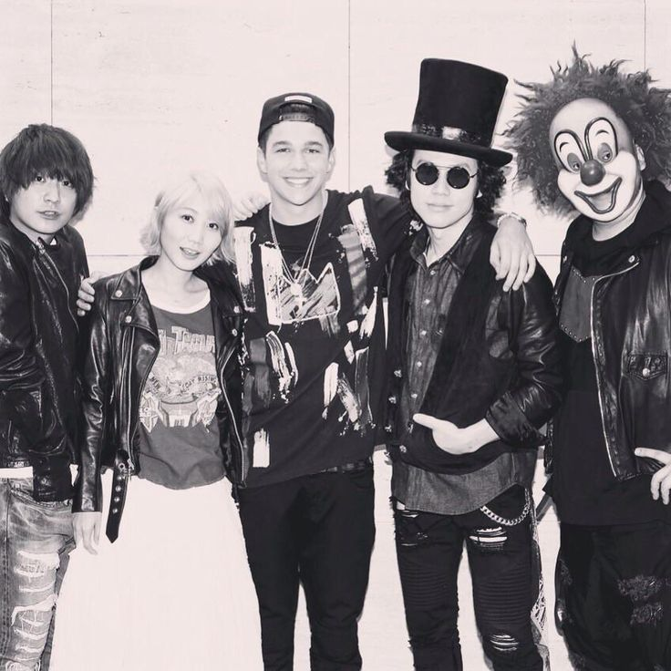 SEKAI NO OWARI with Austin Mahone @ Twilight City #austinmahone #sekainoowari