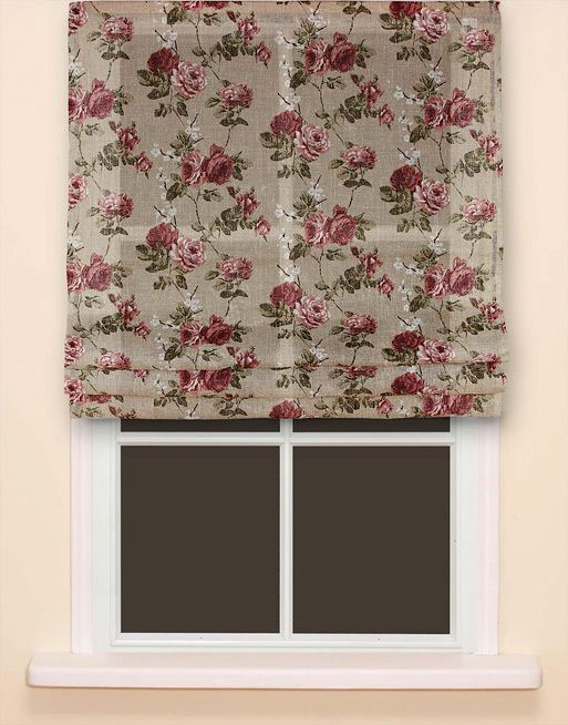 Made from linen fabric. #roman_blind #hometextile