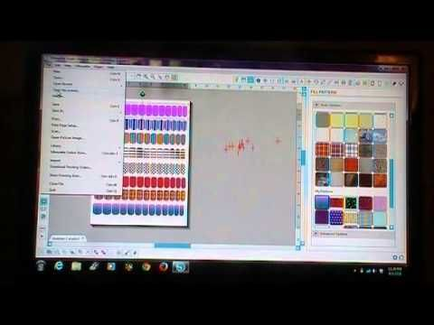 ▶ nait art with cameo silhouette. - YouTube