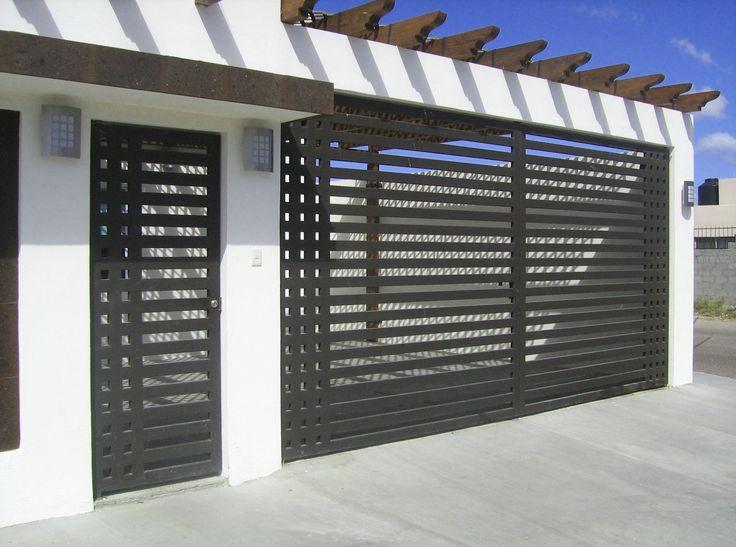 17 best ideas about puertas de herreria modernas on pinterest - Puertas para casas modernas ...