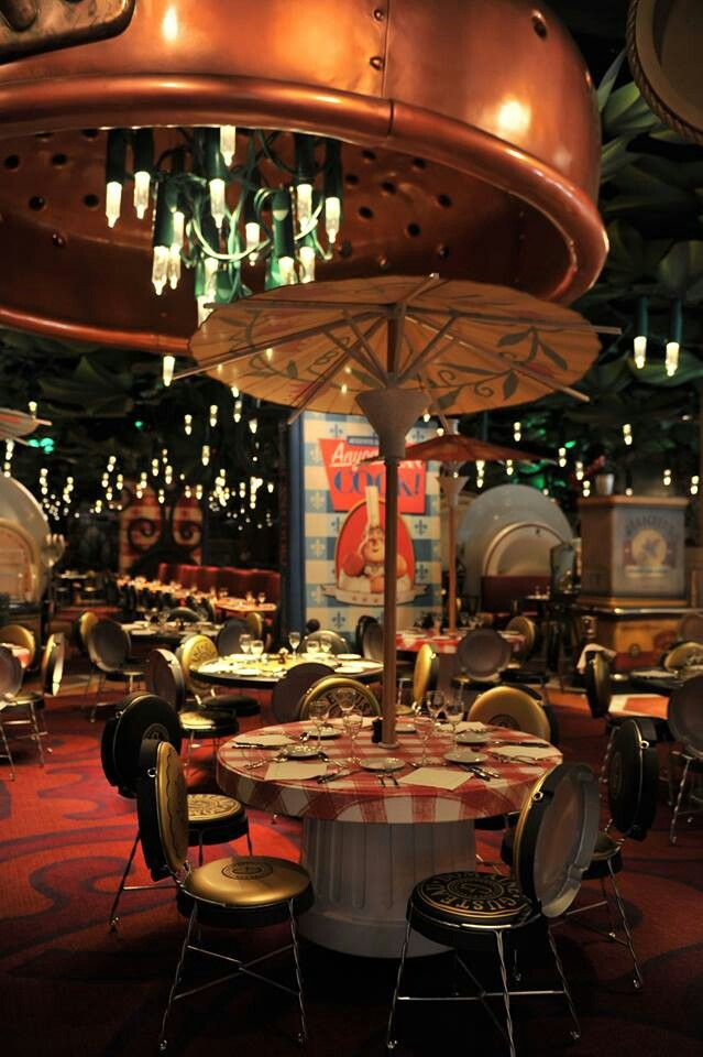 Bistrot Chez Remy restaurant | Ratatouille, Walt Disney Studios | Disneyland Paris