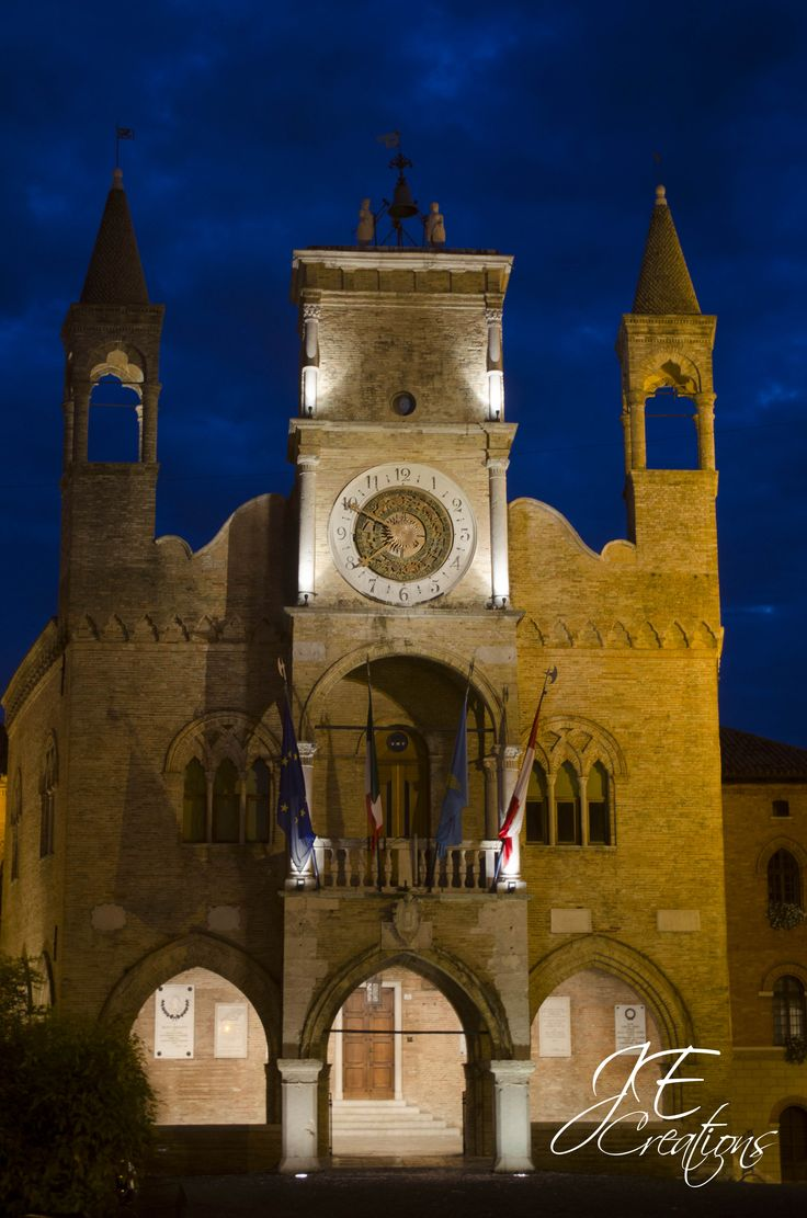 This magical photo of Pordenone, Italy is #TheDailyPIN! J.E. Creations ....365 Project-Day 15