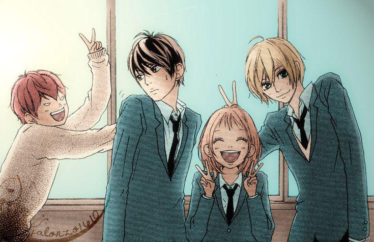 Strobe Edge - Gacchan, Ren, Ninako and Andou