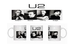 U2 (Portraits) - Ceramic Coffee Mug