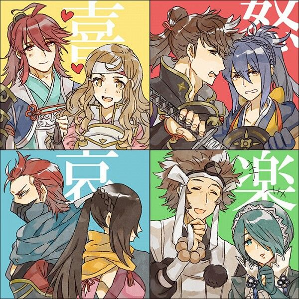 Except for Saizo and Kagero I paired all these guys together on my first play through
