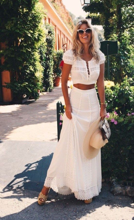 1e7a17ff69 The Best Maxi Skirt Looks You Can Wear This Summer | [Fashion ...