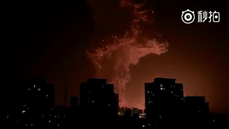 Harbinger : Apocalyptic Explosion in Tianjin China while Global Markets ...