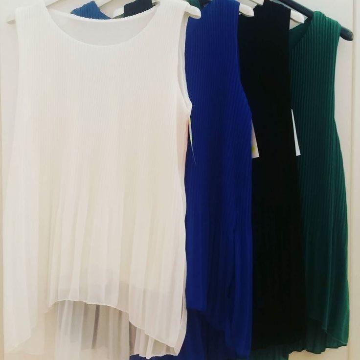 #camicia #asimmetrica #plisse #4 #colori one size #valeria #abbigliamento