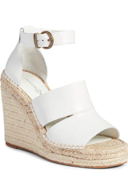 a9c9fe71d81 Treasure   Bond Sannibel Platform Wedge Sandal (Women)