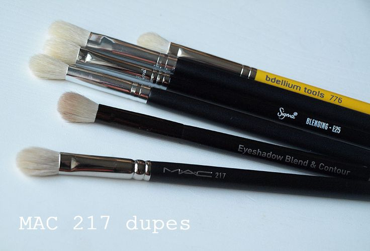 The Black Pearl Blog | MAC 217  Brush Dupes