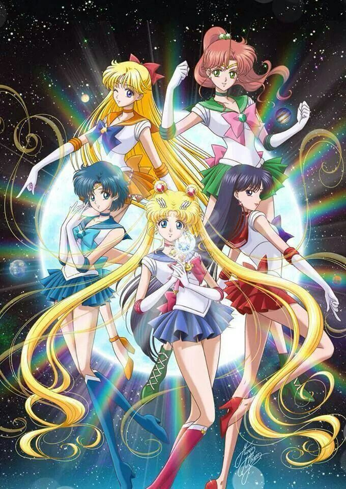 New Sailor Moon Crystal