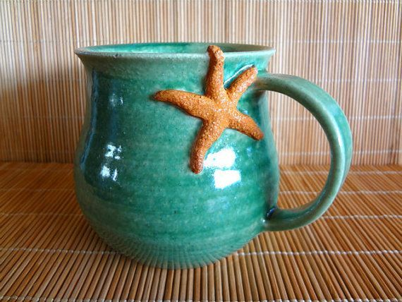 Best 25 green mugs ideas on pinterest green coffee mugs for Clay mug ideas