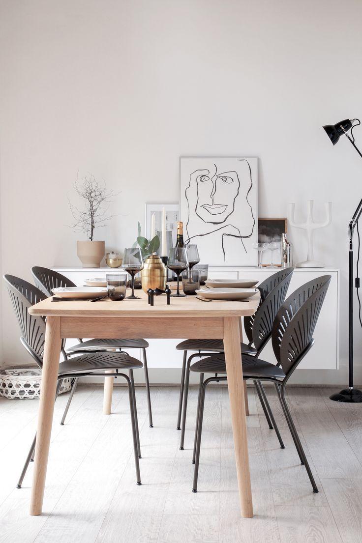 Nanna ditzels trinidad chair by fredericia scandinavian dining room interiordesignideas