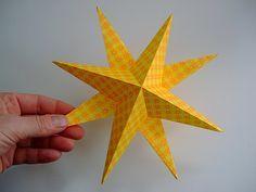 Papírové Stars 13