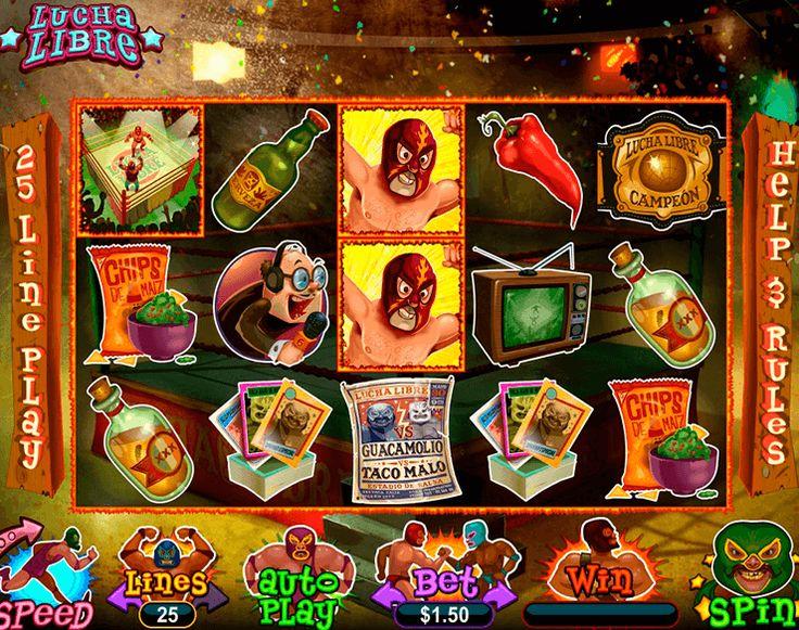 Lucha Libre Slot Machine