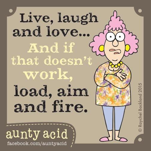 Be fierce Ladies!