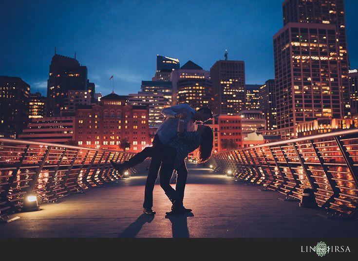 San Francisco Engagement | Veenay and Minal