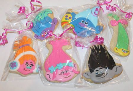 troll decorated cookies - Google Search