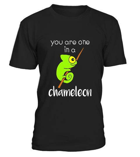 "# You Are One In A Chameleon - Funny Lizard Humor T-Shirt .  Special Offer, not available in shops      Comes in a variety of styles and colours      Buy yours now before it is too late!      Secured payment via Visa / Mastercard / Amex / PayPal      How to place an order            Choose the model from the drop-down menu      Click on ""Buy it now""      Choose the size and the quantity      Add your delivery address and bank details      And that's it!      Tags: A cute and hilarious…"