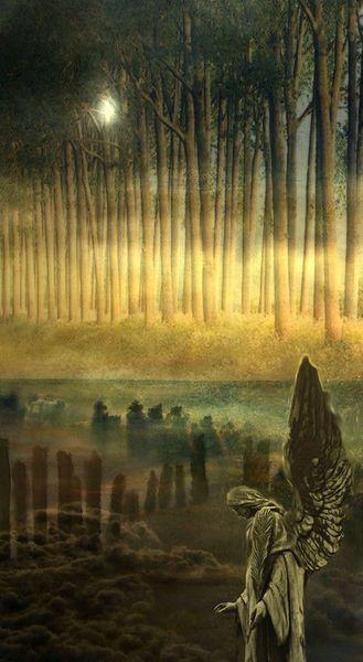 'Bis in alle Ewigkeit' von Marie Luise Strohmenger bei artflakes.com als Poster oder Kunstdruck $19.41