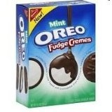Oreo Mint Fudge Cremes, 8.5-Ounce Boxes (Pack of 4) (Grocery)By Oreo