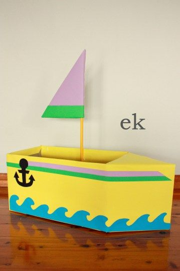 The 25 best cardboard box boats ideas on pinterest for Boat mailbox