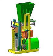 Гидравлический станок для производства лего кирпича Lego SG 30/2 - «Крафт Технологии» - строительное оборудование