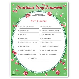 28 best Christmas Songs/Puzzles etc. images on Pinterest ...