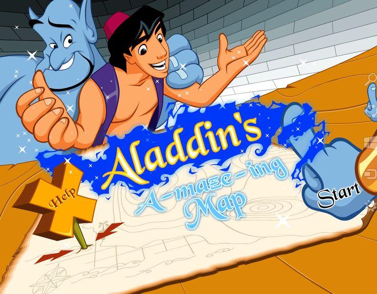 Ayuda a Aladdins a llegar a la salida, pero antes tienes que trazar una linea azul para poder llegar, pero ten cuidado que cada nivel se hace mas difícil por los obstáculos.