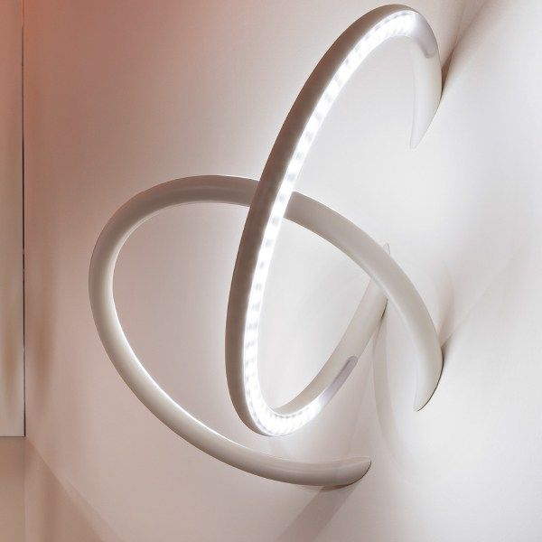 LED semi-inset #lamp WALL PIERCING by FLOS | #design Ron Gilad @Alison Burns Stockley