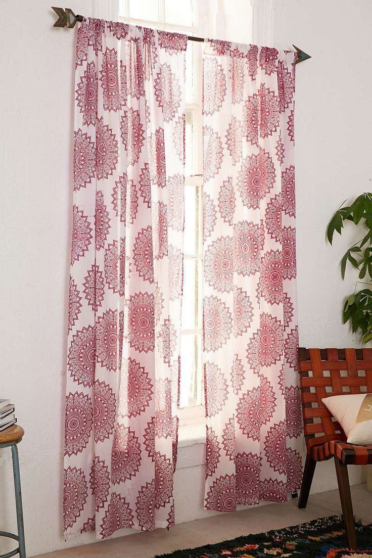 Magical Thinking Maya Medallion Curtain The O 39 Jays Red Rugs And Wouldn 39 T