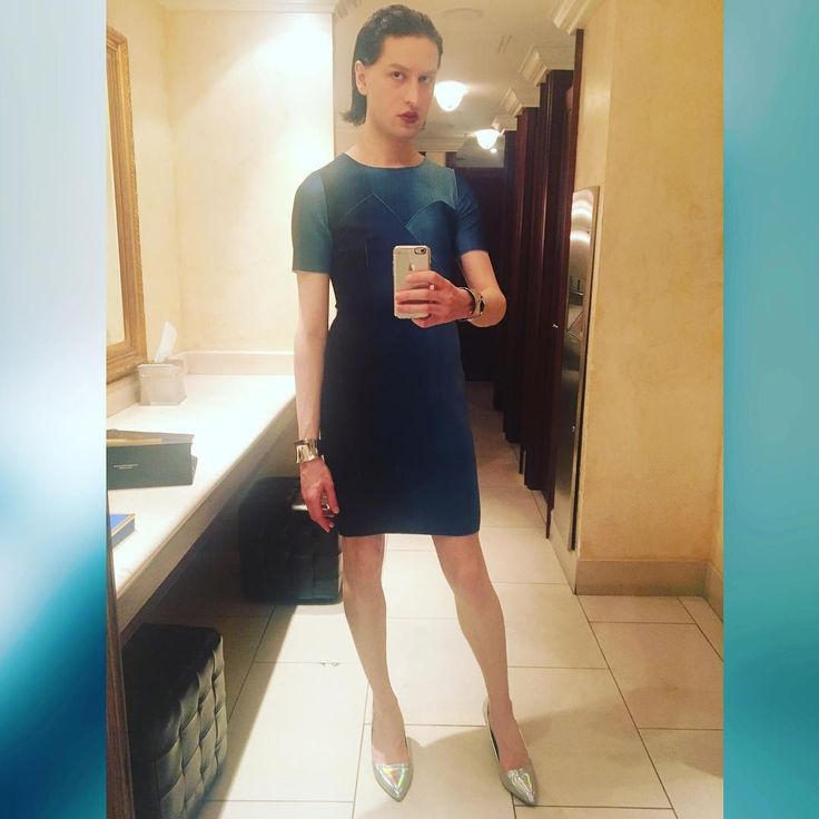 Julian: #dress #elietahari #outfit #heels #blue #silver #androgynous #outfit #clothes #futuristic #model #lgbt #ootd #potd #photooftheday #hair #makeup #lipstick #jewelry #instafashion #fashion #style #selfie #photo #instagood #instadaily #instagram #igers #night #birthday