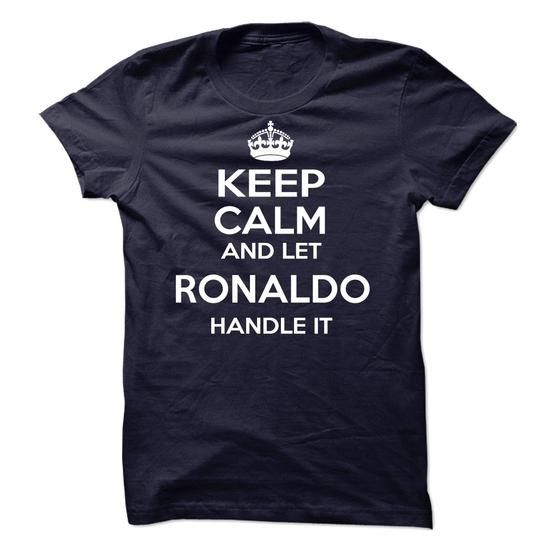 I Love Ronaldo T shirts