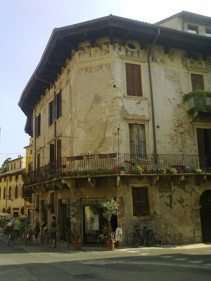 Una calle en Verona