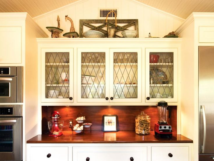 Best Decorating Above Kitchen Cabinets Images On Pinterest - Above kitchen cabinet storage ideas