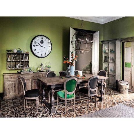 Credenza grigia in legno riciclato L 100 cm Pauillac | Maisons du Monde