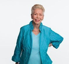 Anti-aging secrets from Louise Hay, 89-year-old wellness luminary. #AntiAgingTips