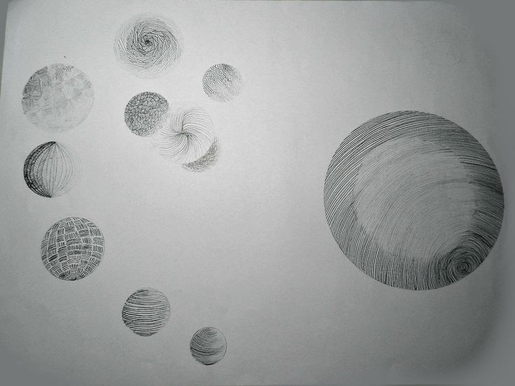 "Komposisi Bola Efek 3 D ""Satu Lawan Seribu"" Pensil pada Bidang Kertas 594 x 420"