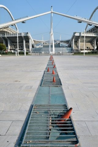 Lost | Forgotten | Abandoned | Displaced | Decayed | Neglected | Discarded | Disrepair | Outside the Olympic Stadium.
