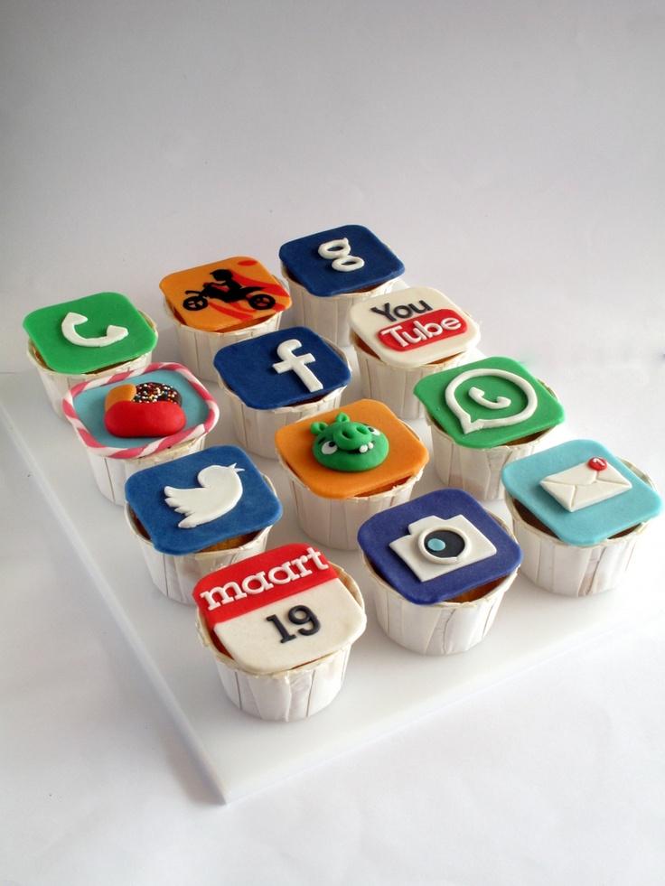 App cakejes, niet te verwarren met appelcakejes ;)