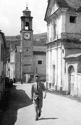 Beppe Fenoglio a San Benedetto Belbo