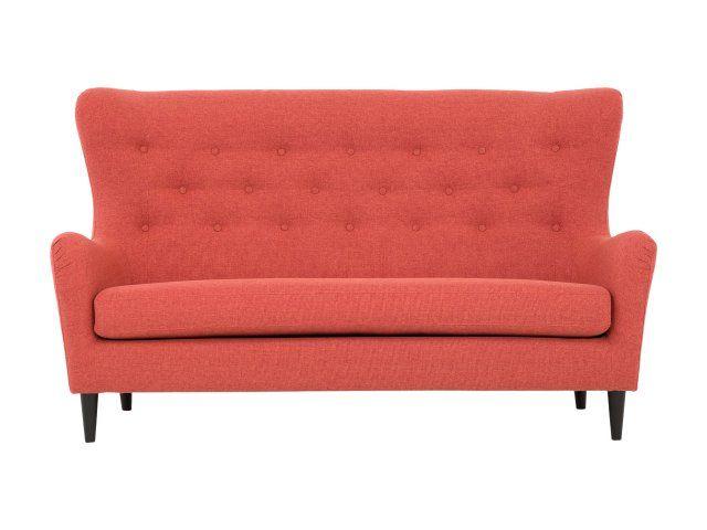GRACE 3-Sits Soffa Röd -