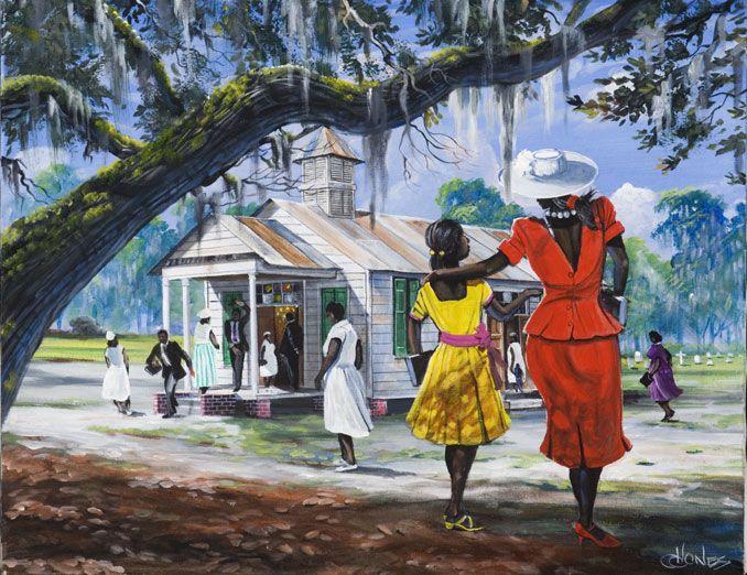 Gullah Paintings   Gullah Art, African American Art by John Jones at Gallery Chuma ...